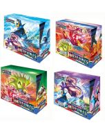 2021 Neue 4x360 stücke Pokemon TCG: Sword & Shield Battle Styles Booster Box Trading Card Spiel Sammlung Spielzeug