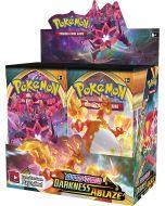 360 stücke Pokémon TCG: Sword & Shield Darkness Ablaze Sealed Booster Box 36 Packs Karten