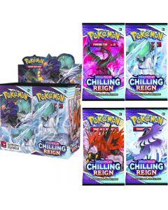 360pcs Pokémon Sammelkartenspiel: Schwert & Schild Chilling Reign Booster Display Box Sammelkarte