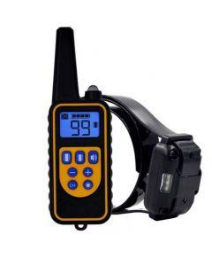 2020 Neue Hundetrainingsgerät Rindensteuerkragen PET Hund Vibration Fernbedienung Hund Drive Ultraschall Elektronische Kragen Doppelvibration