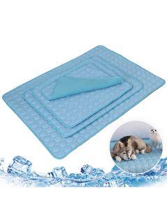 Haustier Weiche Sommer Kühlmatten Decke Haustier Hund Selbstkühlung Matte Pad Sommer Autositz Eis Seidenmatte Pet Kühlung Nicht klebende Decke