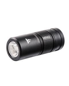 Trustfire Mini2 wiederaufladbare Taschenlampe Schlüsselanhänger USB 250Lumens EDC tragbare Taschenlampe