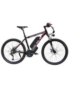SMLRO 26 Zoll Elektro Fahrrad Aluminiumlegierung Ebike 27speed e-Mtb 48V Lithium Batterie 500W motor Hybrid Mountainbike