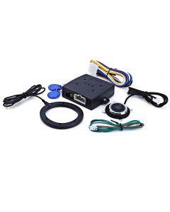 Auto Auto Alarm Auto Motor Push Start-Taste RFID-Lock-Zündstarter Keyless Entry Start Stop Wegfahrsperre Anti-Diebstahlsystem