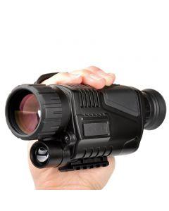 5 x 40 Infrarot-Nachtsicht-Monokular-Nachtsicht-Infrarot-Digital-Geltungsbereich für Jagd-Teleskop-Langweite mit eingebauter Kamera