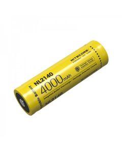NITECORE NL2140 4000mAh 3.6V 14.4Wh 21700 Li-Ionen Akku