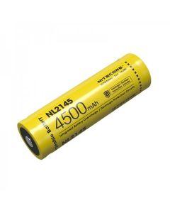 NITECORE NL2145 4500mAh 3.6V 16.2Wh 21700 Li-Ionen Akku