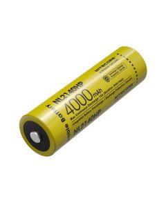 NITECORE NL2140HP 4000mAh 3.6V 14.4Wh 21700 Li-Ionen Akku