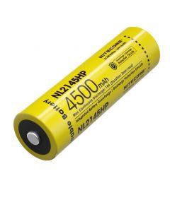 NITECORE NL2145HP 4500mAh 3.6V 16.2Wh 21700 Li-Ionen Akku