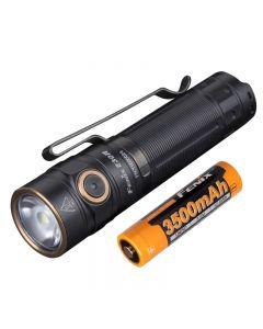 Fenix E30R 1600 Lumen und 203 Meter LED EDC wiederaufladbare Taschenlampe
