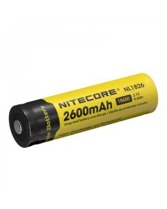 NITECORE 18650 NL1826 2600 3,7V 9.6WH Li-Ion-Akku