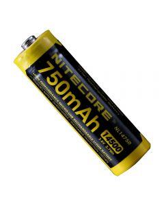 NITECORE NL1475R 750mAh14500 3.6V 2.7Wh AA Micro-USB Wiederaufladbare Li-Ionen-Akku