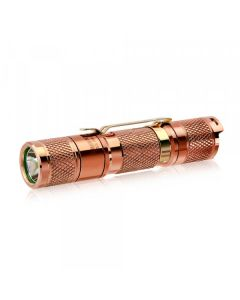 Lumintop Tool AA 2.0 Kupfer Cree XP-L HD LED 650 Lumen AA/14500 EDC Taschenlampe