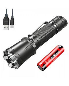 KLARUS XT11GT PRO CREE XHP35 HD 6500K 2200LUMENS USB Typ-C Wiederaufladbare LED-Taschenlampe