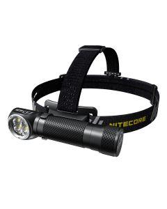 Nitecore HC35 4 x CREE XP-G3 S3 LED 2700 Lumen 4 Meter 21700 Batterie USB Wiederaufladbarer Scheinwerfer