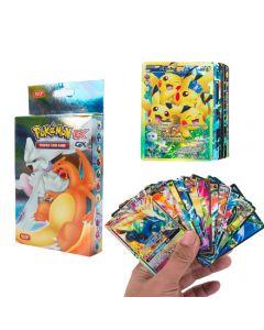 100 verschiedene Pokemon-Karten 20MEGA 58BASIC 20GX 1TAG TEAM 1ENERGY Booster Box Sammelkarten