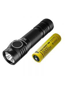 NITECORE E4K 4 x CREE XP-L2 V6 LED 4400 Lumen 21700 Batterie-Taschenlampe