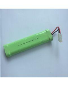 NI-MH 2500MAH 9.6V SC * 8 RC White Plug Battery Pack