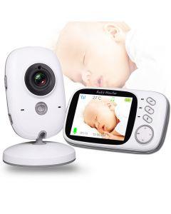 VB603 Wireless-Video-Farbbaby-Monitor mit 3.2inches LCD 2-Wege-Audiokalz-Nachtsichtüberwachungs-Überwachungskamera Babysitter