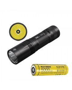 NITECORE R40 V2 CREE XP-L2 V6 LED 1200 Lumen USB Wiederaufladbare 21700 Batterie-Taschenlampe