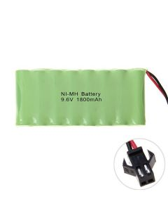 NI-MH AA 9.6V 1800mAh SM Plug Battery Pack
