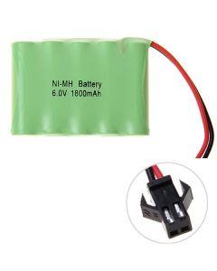 NI-MH AA 1800MAH 6V Big SM Plug Battery Pack
