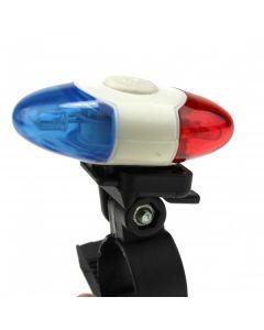 4 LED Super Bright Sicherheitslicht XI-908 4 Modi Fahrrad Rücklicht