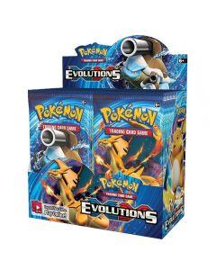 Pokemon TCG: XY Evolutions Sealed Booster Box Kollektiv Handelskarten 36 Packungen