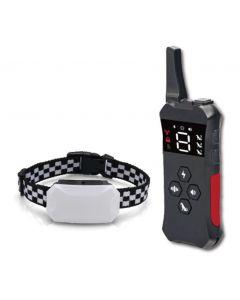 2021 Neue Hundetrainingskragen mit remote wiederaufladbarer wasserdichter Schockkragen für Hunde 3 Trainingsmodi, Piepton Vibration und Schock