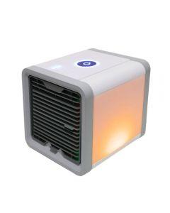 USB Mini Tragbare Klimaanlage Luftbefeuchter Reiniger 7 Farben Licht Desktop Luftkühlung Lüfter Luftkühler Fan für Büro