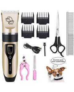 Pet-Ladung elektrischer Clippers, Haustier-E-Rasierer-Katzen- und Hunde-elektrischer Haarschneider, Hund professioneller Schönheits-Trimm-Set kann aufgeladen werden