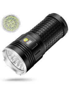 SKY RAY 18xCREE XML T6 4 Modi 15000 Lumen Wiederaufladbare USB Typ-C LED Taschenlampe