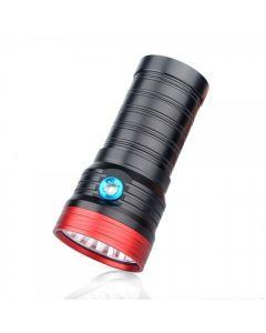 Sky Ray S 8 18T6 18xCree XM-L T6 15000-Lumen USB wiederaufladbare LED Taschenlampe