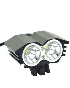 EternalFire-Fahrrad-Licht 2 * CREE XM-L U2 4 Modi Dual-Kopf-LED-Bike-Licht / Fahrradfrontlicht