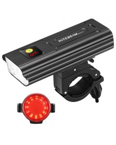 NiteBeam BR05 Fahrradlichter 5x CREE XML T6 5000 Lumen USB Wiederaufladbare Fahrradlicht Front und Fahrrad Rücklicht