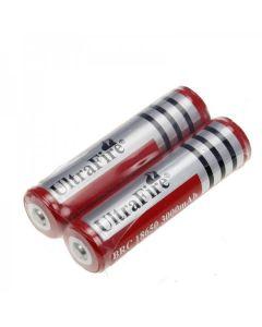 Ultrafire BRC 3000mAh 3.7V 18650 Batterie mit PCB (1 Paar)