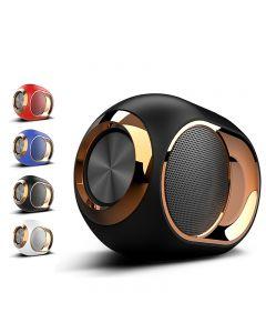 Goldener Eier Bluetooth-Lautsprecher, tragbarer High-End-WLAN-Lautsprecher, 108 dB-Stereo-Bluetooth-Lautsprecher-Mini-Bluetooth-Spieler, super starker Subwoofer-Lautsprecher