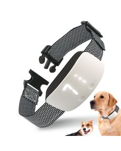 Neue touch 7 level screen hund bark schock schock training kragen wasserdicht wiederaufladbar statischer schock anti no bark kragen hund training