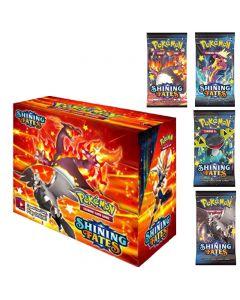 2021 Neue 360 stücke Pokemon TCG: Shining Choites Booster Box Trading Card Game Sammlung Spielzeug