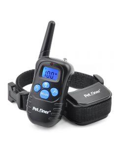Petrainer 998D 300m Remote Electric Hundekragen Schock Vibration Wiederaufladbarer Regenschutzhund-Trainingskragen mit LCD-Display