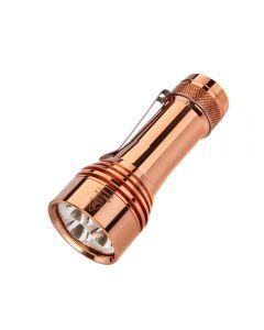 Lumintop FW21 PRO Kupfer Cree XHP50.2 ,000 Lumen LED 21700 Batterie EDC Taschenlampe