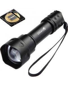 Ultrafire T20 10W Taschenlampe 850nm 940NM Nachtsicht Zoomable LED Taschenlampe