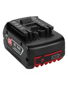 2020 NEUE 18V akkuzuladbare Batterie für Bosch 18V Batterie Backup Tragbarer Ersatz für Bosch BAT609 Anzeigeleuchte