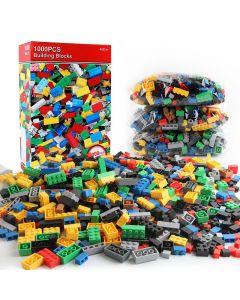 1000 Stücke DIY Bausteine Bulk Sets City Creative Classic Technic Creator Ziegel Montage Brinquedos Kinder Pädagogische Spielzeug
