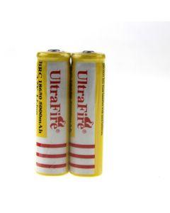 Ultrafire BRC 18650 5000mAh Li-Ion wiederaufladbare Batterie (1 Paar)