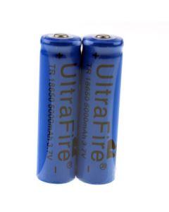 Ultrafire TR 5000mAh 3.7V 18650 Li-Ion-Wiederaufladbare Batterie (1 Paar)