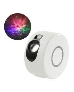 Laser Starry Himmel Projektor Nachtlicht 7 Farben 360 Grad Rotation Galaxy Projektion Lampe Ambient Schlafzimmer Nachtbeleuchtung Geschenk