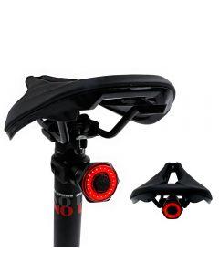 Smart Bicycle Tail Rücklicht Auto Start Stop Bremse IPX6 wasserdichte USB Charge Radfahren Rücklicht Bike LED-Leuchten