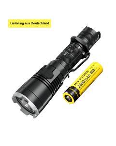 Nitecore MH27 Taschenlampe CREE XP-L HI V3 LED 1000lm RGB LED Hohe helle Fackel Wasserdicht