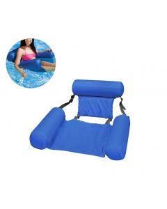 Sommer aufblasbare schwimmende Reihen Wasser Hängematte aufblasbare Luftmatratze Swimmingpool Strand schwimmend schlafende Kissenbettstuhl